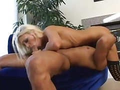 Skinny Blondie Teen gives a ultra-cute Blowjob and have good fucky-fucky