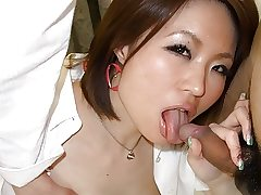 Slutty chick, Miki Uemura is often cheating on her bf